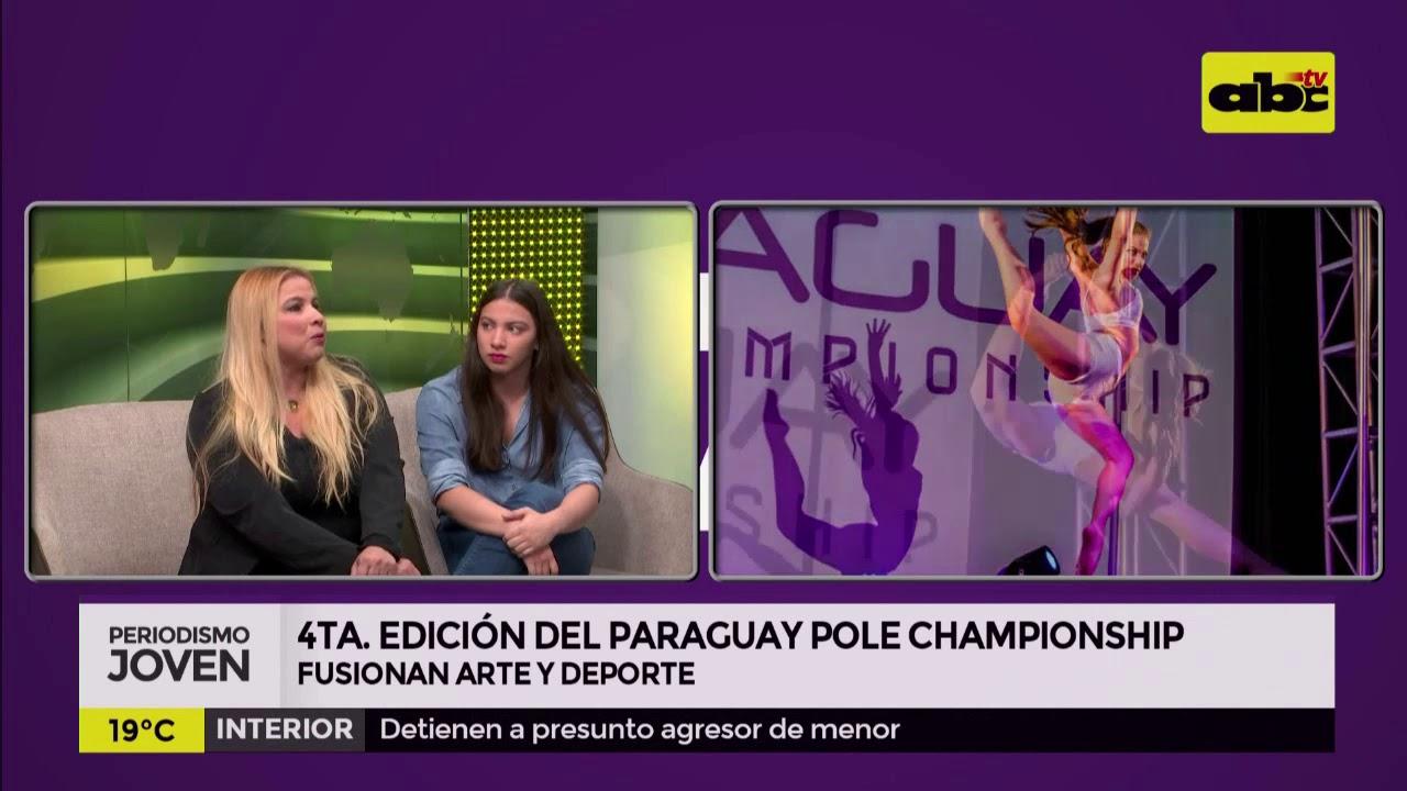 Arte y deporte con Paraguay Pole Championship