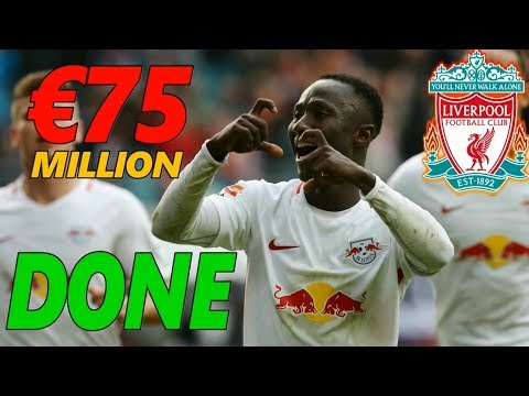 TRANSFER NEWS : KEITA TO LIVERPOOL ! DONE ! £75 MILLION BID  ACCEPTED BY LEIPZIG