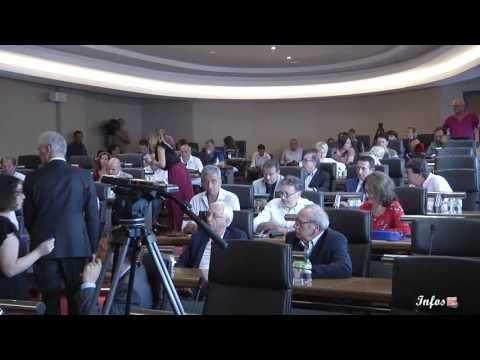 Election du nouveau président de la CAPA, Laurent Marcangeli