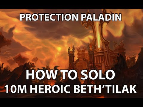 bethtilac - A quick guide on soloing Heroic Beth'Tilac 10 Man in the Firelands.