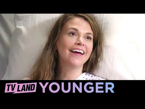 Charles Visits Liza in the Hospital | Younger (Season 3) | TV Land