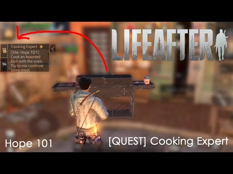 "LifeAfter - [Quest] ""Cooking Expert"" Site : Hope 101"