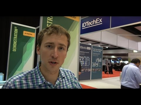 Interview with VerdanTech at the IDTechEx Show! USA 2016