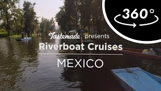 Mexico City Riverboat Ride | Tastemade Hors d'oeuVRes by Tastemade