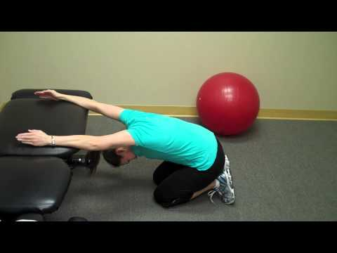 Mid Back Pain Exercises Video 3 of 5