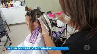 Visual: a cor do cabelo na virada