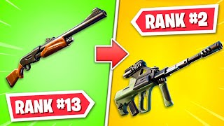 Ranking EVERY GUN in Fortnite Chapter 2! (WORST to BEST) by Ali-A