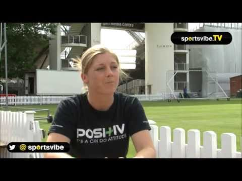 Sportsvibe Interview England Cricketer Heather Knight