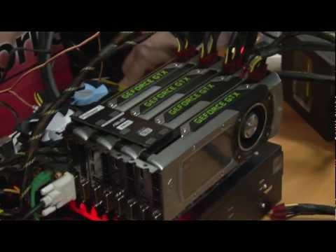 Nvidia GeForce GTX Titan quad SLI demo – Crysis 3 and 3DMark 11