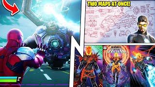 TWO Playable Maps Coming, BLACK HOLE Battle Bus, Galactus Live Event!