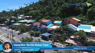 Kampung Warna – Warni Bikin Wisatawan Terpana