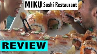 Miku Sushi Restaurant in Vancouver. Better than Tojos? (AMWF)