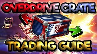 *NEW* OVERDRIVE CRATE TRADING GUIDE  PRICES AND TIPS  ROCKET LEAGUEHere is the link where you can buy items on Rocket League on all platforms! Make sure to use promo code SAVAGE if you make a purchase!https://goo.gl/PkNWvQMake sure to thumbs up and subscribe for more streams, videos, and giveaways! :DSUBSCRIBE -- https://goo.gl/whS19zTwitter: https://twitter.com/SavagePlanet_RLIf you want to help the stream out, you can donate here :) https://youtube.streamlabs.com/savageplanetCHECK OUT MY PREVIOUS VIDEOS:Top 5 Overdrive Crate Openings -- https://goo.gl/ErCJM4Luckiest Overdrive Crate Opening -- https://goo.gl/AVoSyuBest Overdrive Crate Opening -- https://goo.gl/DwEXZ5Full Overdrive Crate Update Stream -- https://goo.gl/yFgWKDEarly Look at Overdrive Crate -- https://goo.gl/jDYGQSBest Trade Ups on Rocket League -- https://goo.gl/FC2dahPlaying As America On Rocket League -- https://goo.gl/ce92fWFourth Mystery Goal Explosion on Rocket League -- https://goo.gl/bsU2yZBiggest Donation on Rocket League Part 2 -- https://goo.gl/54a8E5Playing Rocket League as a Minion -- https://goo.gl/gEzvcePing Pong Mode On Rocket League -- https://goo.gl/AFWr5BNew Secret Items Coming to Rocket League -- https://goo.gl/oGsdRcTop 5 Nitro Crate Trade-Ups (Painted Dracos) -- https://goo.gl/J112BjFidget Spinner Wheels on Rocket League -- https://goo.gl/Yo5h4j50 Nitro Crate Opening -- https://goo.gl/iCdA4MBiggest Donation Ever on Rocket League -- https://goo.gl/7n2YnkNew Crate with all Mystery Decals -- https://goo.gl/2Nd8H2Huge Profit Trade -- https://goo.gl/HoFNc5Early Overdrive Crate Opening -- https://goo.gl/UTUQcQBlind Trading with Beta Nugget -- https://goo.gl/w81scBBlind Trading with Magical Gamer -- https://goo.gl/nE9ZqsRocket League Secret Code Items -- https://goo.gl/3fMNfPRocket League coming to Nintendo Switch -- https://goo.gl/yoi4ArRocket League Story Mode -- https://goo.gl/Dqr8sKRocket League Free Item Glitch -- https://goo.gl/LqVXFcBest Ways to Profit In Rocket League Trading -- 