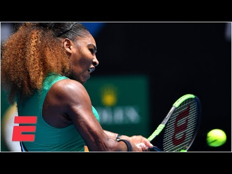 Serena Williams dominates first-round matchup | 2019 Australian Open Highlights