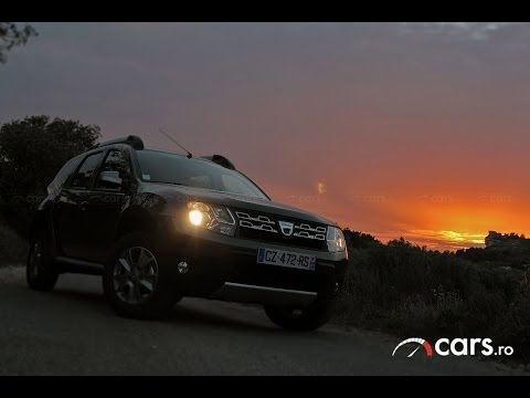 2013 Dacia Duster Facelift Test Drive – cars.ro