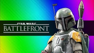 Star Wars Battlefront Beta Funny Moments - Darth Vader vs. Luke Skywalker!