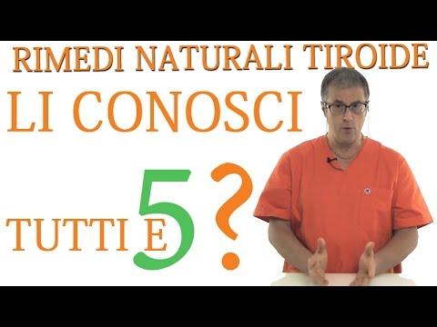 malfunzionamento tiroide, ecco i rimedi naturali per curarla!