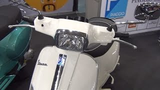 8. Piaggio Vespa S 50 2T Exterior and Interior in 3D 4K UHD