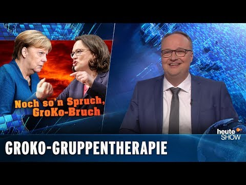 Die Die Groko ist tot, sie weiß es nur noch nicht | heute-show vom 15.02.2019