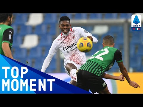 Rafael Leão with the Fastest Serie A TIM Goal Ever!   Sassuolo 1-2 Milan   Top Moment   Serie A TIM