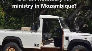 Praise God! Parkville Family Church of the Nazarene raised funds to purchase a 4x4 for the work in Mozambique. If you would like...