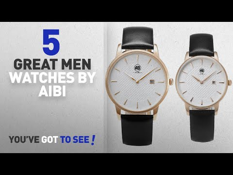 Top 10 Aibi Men Watches [ Winter 2018 ]: AIBI Set of 2,His and Her Analogue Quartz Rosegold