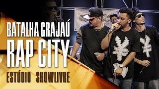 Batalha Grajaú Rap City se apresenta no Estúdio Showlivre, dia 28 de junho de 2017.#Curta a nossa página no Facebook: https://www.facebook.com/showlivre#Siga-nos no Spotify: http://spoti.fi/2j5j4vQ#Siga-nos no Twitter: https://twitter.com/showlivre#Veja e curta as nossas fotos no Instagram: http://instagram.com/showlivre+Showlivre, movido à música: http://showlivre.com/O coletivo GRAJAÚ - RAP CITY - SP, formado por Ladakipnis Hoodlum, Jpa Epycentro, Gah Mc e Rafael Santiago, surgiu com a intenção de divulgar e difundir o rap e a cultura Hip Hop, e sempre apoiou todas as manifestações artísticas realizadas na região do Grajaú. A batalha promovida pela coletivo sempre acontece às 19h, no Centro Cultural Grajaú, próximo à estação de trem Grajaú.