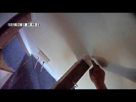 So geht's! Zimmer Streichen mit Caparol Capamaxx Gezeigt vom Profi! renovierung bei auszug
