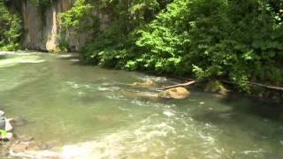 北海道観光映像(層雲峡渓谷)