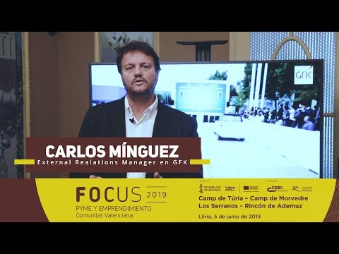 Carlos Mínguez, de GfK. Focus Pyme y Emprendimiento Llíria 2019[;;;][;;;]