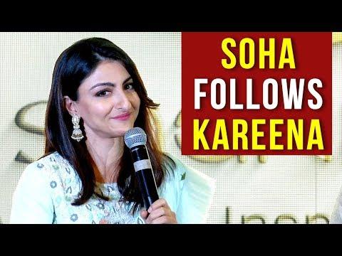 Like Kareena Kapoor, Soha Ali Khan Takes A Major S