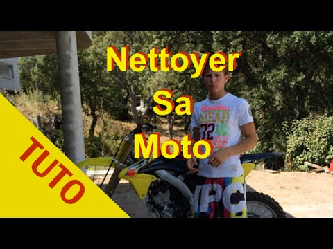 comment nettoyer filtre a air 125 yz