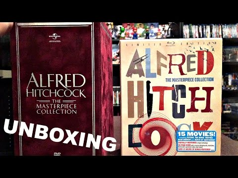 Alfred Hitchcock Masterpiece Collection Blu-Ray Unboxing