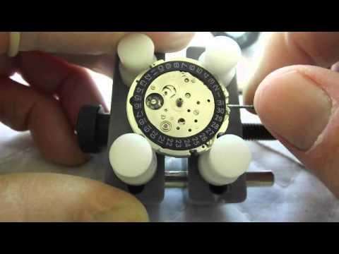 Artego Miyota 8215 Movement Rebuild