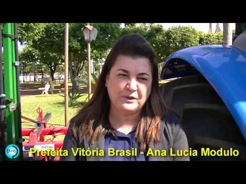 Vitória Brasil - Prefeita anuncia as várias emendas que Vitória Brasil está recebendo de Deputados e anuncia novos projetos.