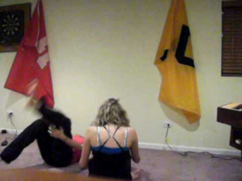 Hand stand BLOOPERS!!!