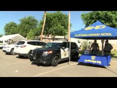 Law enforcement agencies teach kids about health and safety