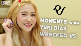 Video RED VELVET (레드벨벳) YERI - MOMENTS WHEN SHE BIAS WRECKED US MP3, 3GP, MP4, WEBM, AVI, FLV April 2019