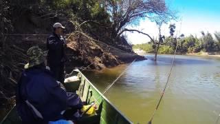 Pescaria No Rio Miranda - Agosto 2013