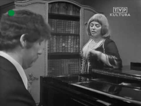 Tekst piosenki Kalina Jędrusik - Mój pierwszy bal po polsku