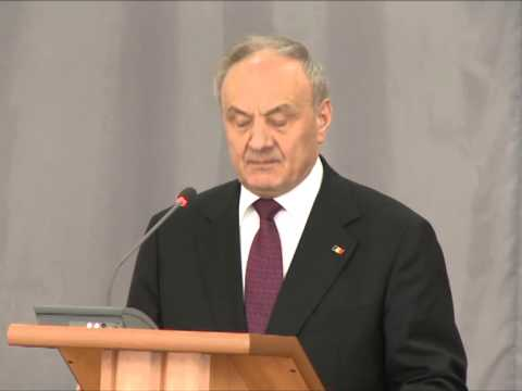Nicolae Timofti a participat la ceremonia dedicată celei de-a 20-a aniversări a Academiei de Administrare Publică