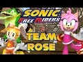 Sonic Free Riders Team Rose Story