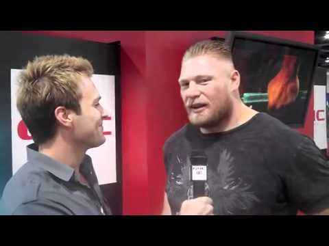 Brock Lesnar Interview from Olympia 2010