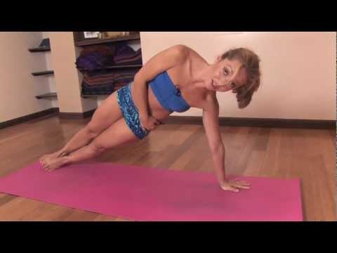 Core Strength Yoga Exercise, Lift Your Hips in Side Plank with Kino MacGregor video