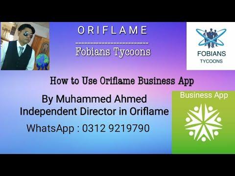 Oriflame Business App