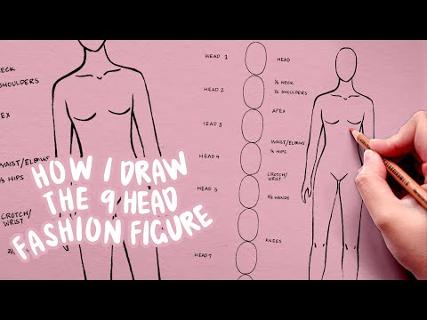 TUTORIAL - Fashion Figure for Beginners | 9 Heads