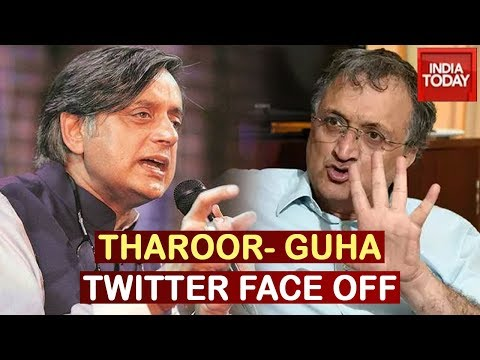 Shashi Tharoor Hits Out At Ramchandra Guha Over Criticism On Rahul Gandhi