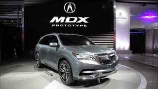 Acura MDX Prototype - 2013 Detroit Auto Show