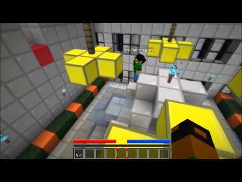 Minecraft Escape #3 Mirrors Edge City | Qusim + escape = fail