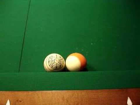 How to shoot the Impossible pool shot